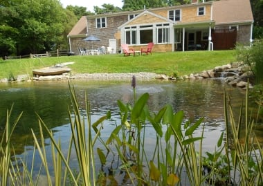 Image gallery natural pond landscaping - The pond house nature above all ...